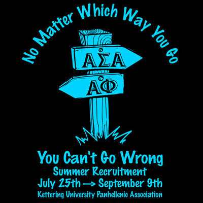 You Cant Go Wrong Formal Rush Shirt