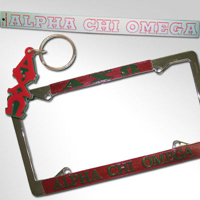 Alpha Chi Omega Car Package