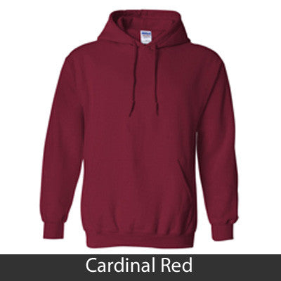 Zeta Tau Alpha Hooded Sweatshirt - Gildan 18500 - TWILL