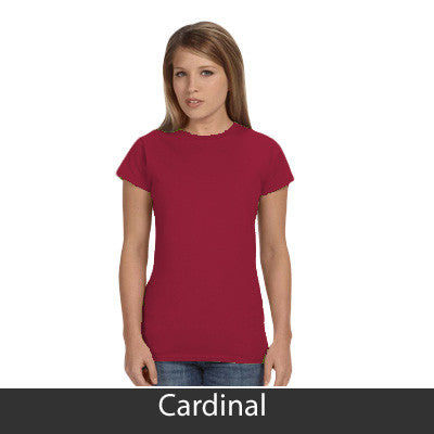 Gamma Phi Beta Ladies' Softstyle Printed T-Shirt - Gildan 6400L - CAD