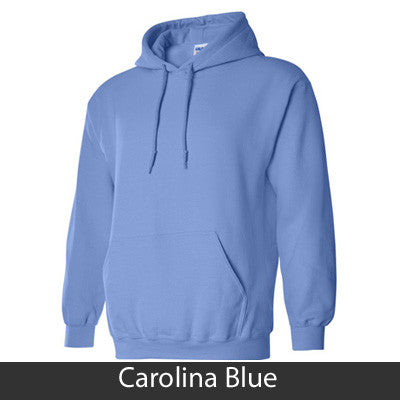 Kappa Alpha Theta Hooded Sweatshirt - Gildan 18500 - TWILL
