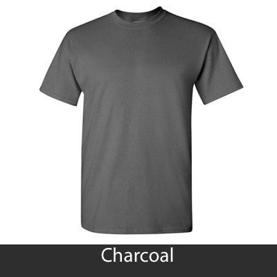 Greek Vertical Arc Printed T-Shirt - Gildan 5000 - CAD