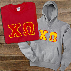 Chi Omega Hoody/T-Shirt Pack - TWILL
