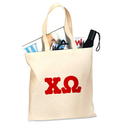 Chi Omega Printed Budget Tote - Letter - 825 - CAD