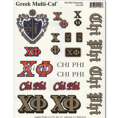 Chi Phi Multi-Cal Sticker