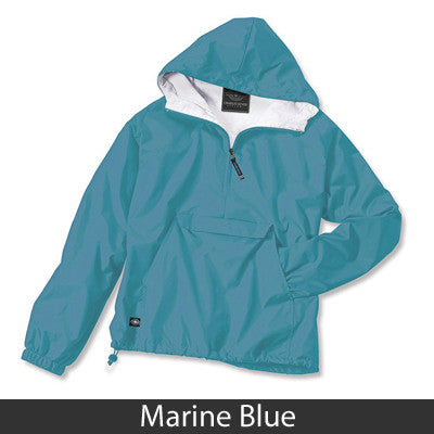 Phi Mu Pullover Jacket - Charles River 9905 - TWILL