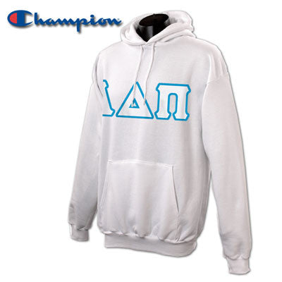 Alpha Delta Pi Champion Hooded Sweatshirt - Champion S700 - TWILL