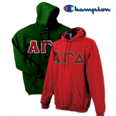 Alpha Gamma Delta 2 Champion Hoodies Pack - Champion S700 - TWILL