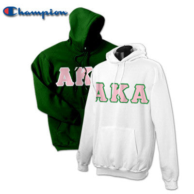 Alpha Kappa Alpha 2 Champion Hoodies Pack - Champion S700 - TWILL