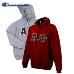 Alpha Phi 2 Champion Hoodies Pack - Champion S700 - TWILL