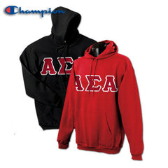 Alpha Sigma Alpha 2 Champion Hoodies Pack - Champion S700 - TWILL