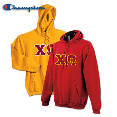 Chi Omega 2 Champion Hoodies Pack - Champion S700 - TWILL