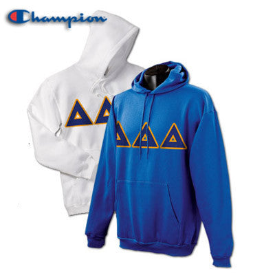 Delta Delta Delta 2 Champion Hoodies Pack - Champion S700 - TWILL