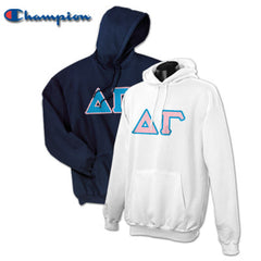 Delta Gamma 2 Champion Hoodies Pack - Champion S700 - TWILL