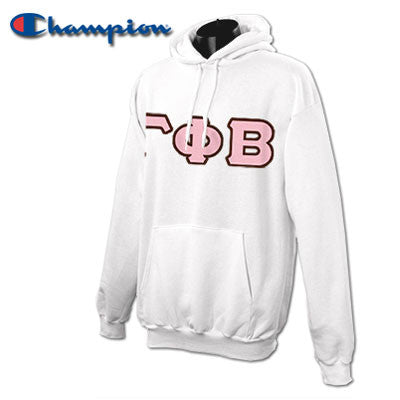 Gamma Phi Beta Champion Hooded Sweatshirt - Champion S700 - TWILL