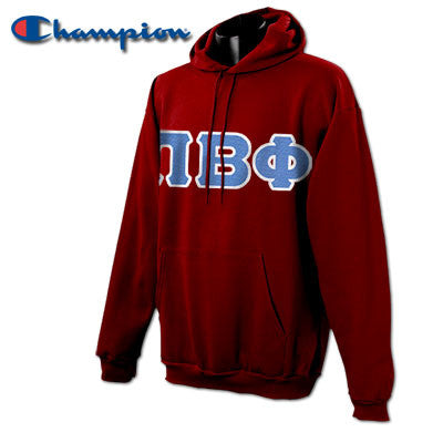 Pi Beta Phi Champion Hooded Sweatshirt - Champion S700 - TWILL