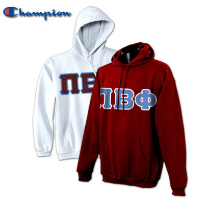 Pi Beta Phi 2 Champion Hoodies Pack - Champion S700 - TWILL