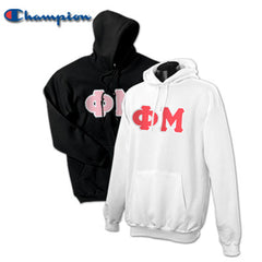Phi Mu 2 Champion Hoodies Pack - Champion S700 - TWILL