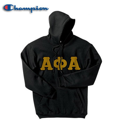 Alpha Phi Alpha Champion Hooded Sweatshirt - Champion S700 - TWILL