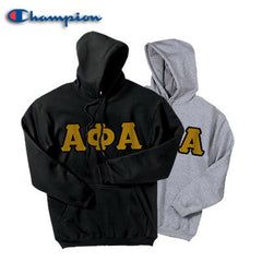 Alpha Phi Alpha 2 Champion Hoodies Pack - Champion S700 - TWILL