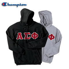 Alpha Sigma Phi 2 Champion Hoodies Pack - Champion S700 - TWILL
