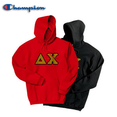 Delta Chi 2 Champion Hoodies Pack - Champion S700 - TWILL