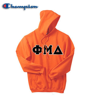 Phi Mu Delta Champion Hooded Sweatshirt - Champion S700 - TWILL