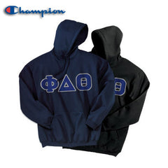 Phi Delta Theta 2 Champion Hoodies Pack - Champion S700 - TWILL