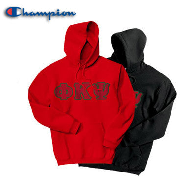 Phi Kappa Psi 2 Champion Hoodies Pack - Champion S700 - TWILL