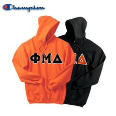 Phi Mu Delta 2 Champion Hoodies Pack - Champion S700 - TWILL