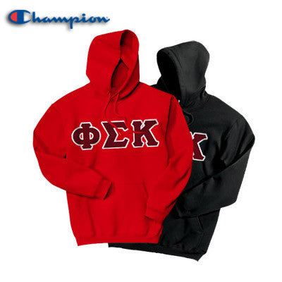 Phi Sigma Kappa 2 Champion Hoodies Pack - Champion S700 - TWILL