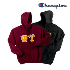 Psi Upsilon 2 Champion Hoodies Pack - Champion S700 - TWILL