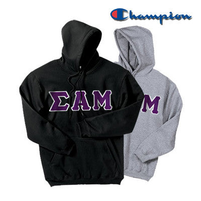 Sigma Alpha Mu 2 Champion Hoodies Pack - Champion S700 - TWILL