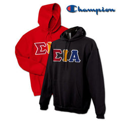 Sigma Iota Alpha 2 Champion Hoodies Pack - Champion S700 - TWILL