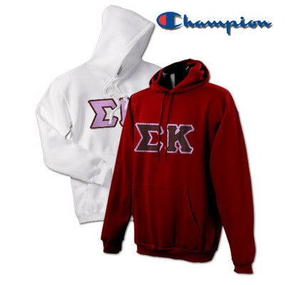 Sigma Kappa 2 Champion Hoodies Pack - Champion S700 - TWILL