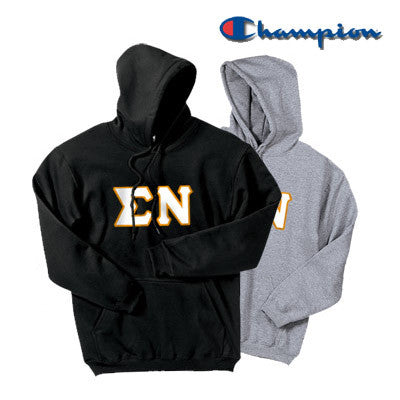 Sigma Nu 2 Champion Hoodies Pack - Champion S700 - TWILL
