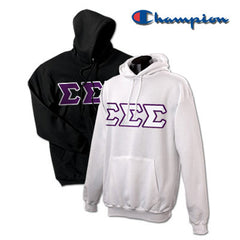 Sigma Sigma Sigma 2 Champion Hoodies Pack - Champion S700 - TWILL