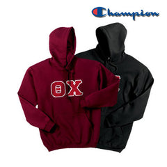 Theta Chi 2 Champion Hoodies Pack - Champion S700 - TWILL