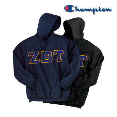 Zeta Beta Tau 2 Champion Hoodies Pack - Champion S700 - TWILL