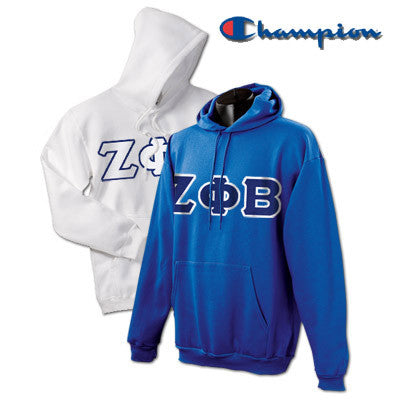 Zeta Phi Beta 2 Champion Hoodies Pack - Champion S700 - TWILL