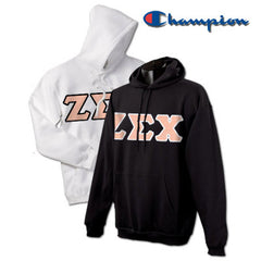 Zeta Sigma Chi 2 Champion Hoodies Pack - Champion S700 - TWILL