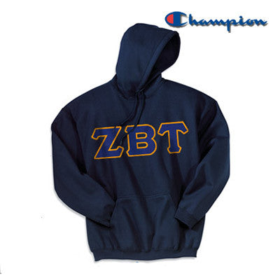 Zeta Beta Tau Champion Hooded Sweatshirt - Champion S700
