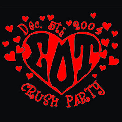 Hearts crush party shirt