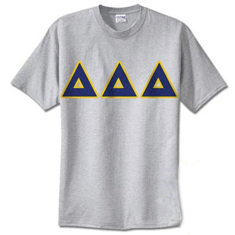 Delta Delta Delta Standards T-Shirt - $14.99 Gildan 5000 - TWILL