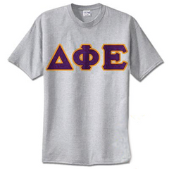 Delta Phi Epsilon Standards T-Shirt - $14.99 Gildan 5000 - TWILL