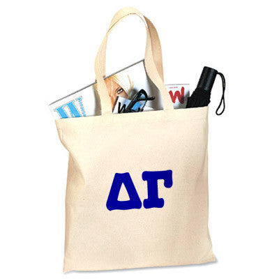 Delta Gamma Printed Budget Tote - Letter - 825 - CAD