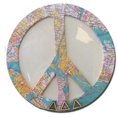 DIY Peace Sign Photo Frame - 13643059