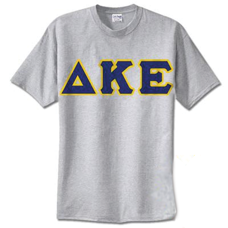 Delta Kappa Epsilon Standards T-Shirt - $14.99 Gildan 5000 - TWILL