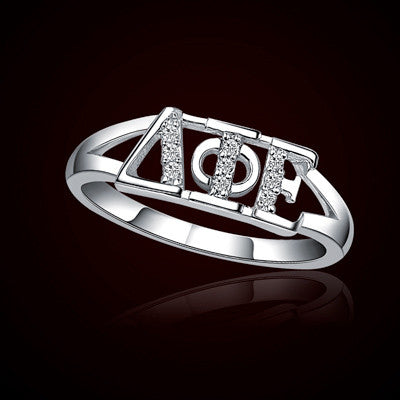 Delta Phi Epsilon Sorority Ring - GSTC-R001