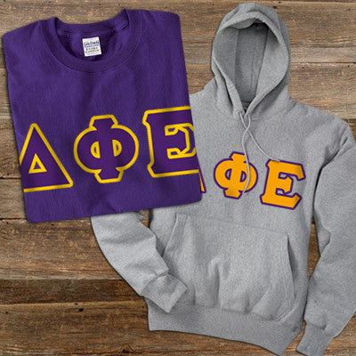 Delta Phi Epsilon Hoody T Shirt Pack Twill Something Greek